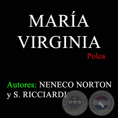 MARÍA VIRGINIA - Polca de NENECO NORTON