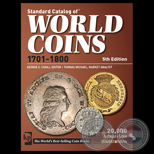 WORLD COINS 1701 1800 - 5th Edition
