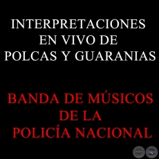 INTERPRETACIONES EN VIVO DE POLCAS Y GUARANIAS